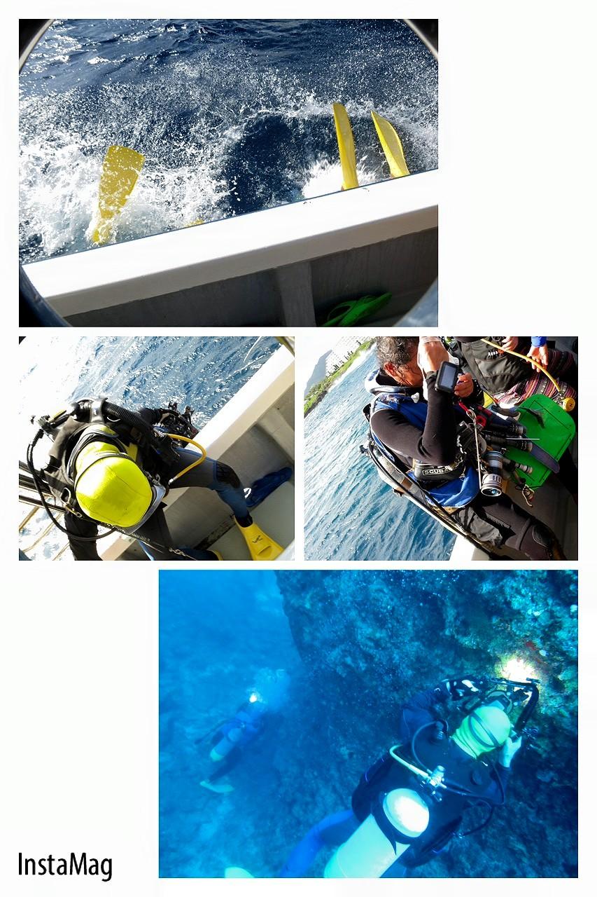 4ボート水中撮影ダイビング