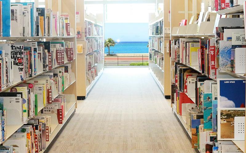 きれいな海を眺めながら読書と学び