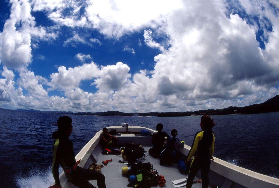 3ボート水中撮影ダイビング
