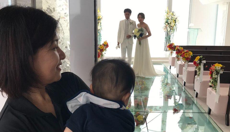 お子様と一緒にリゾート婚やウェデング♪ weddingシッター‼︎