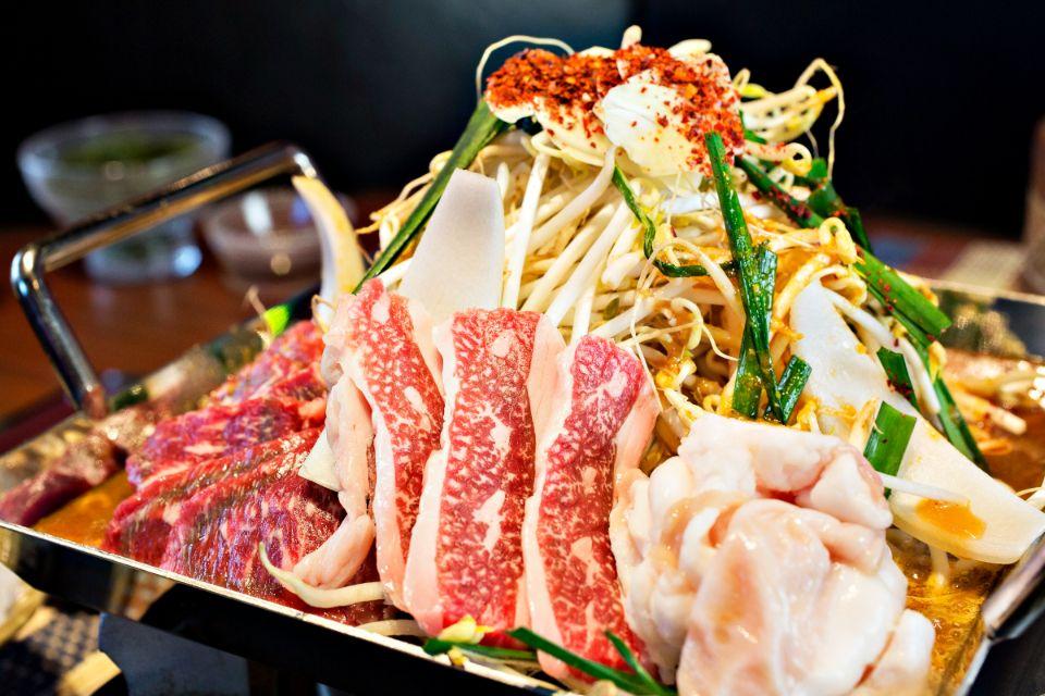沖縄ブランド牛とアグー豚の食べ比べコース