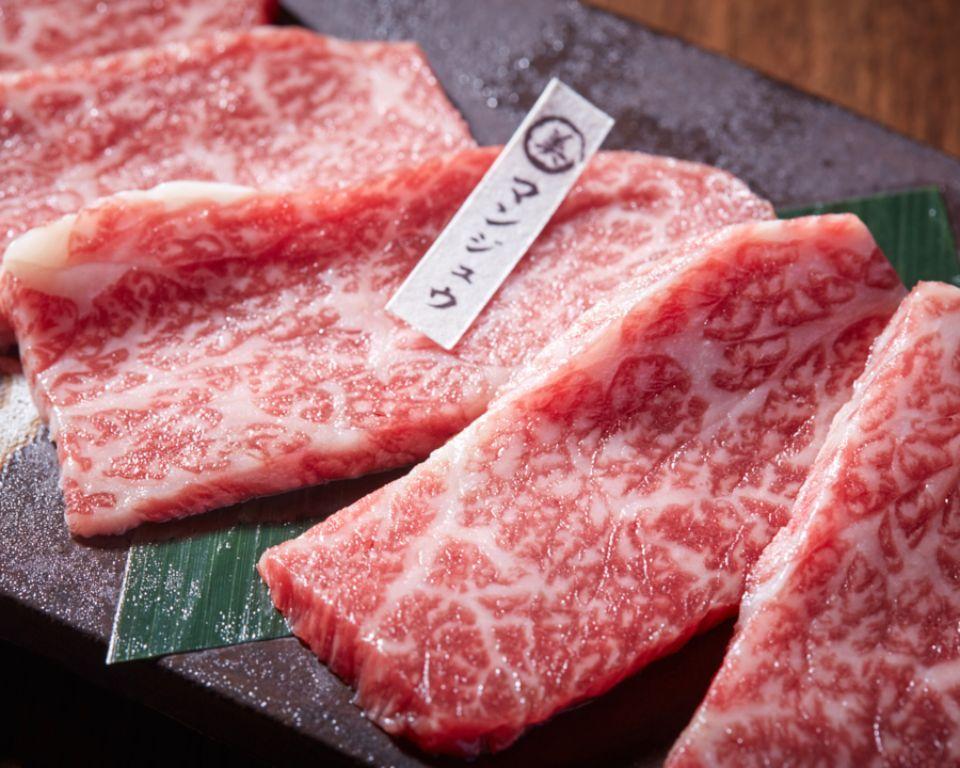 沖縄ブランド牛と紅アグー豚の単品