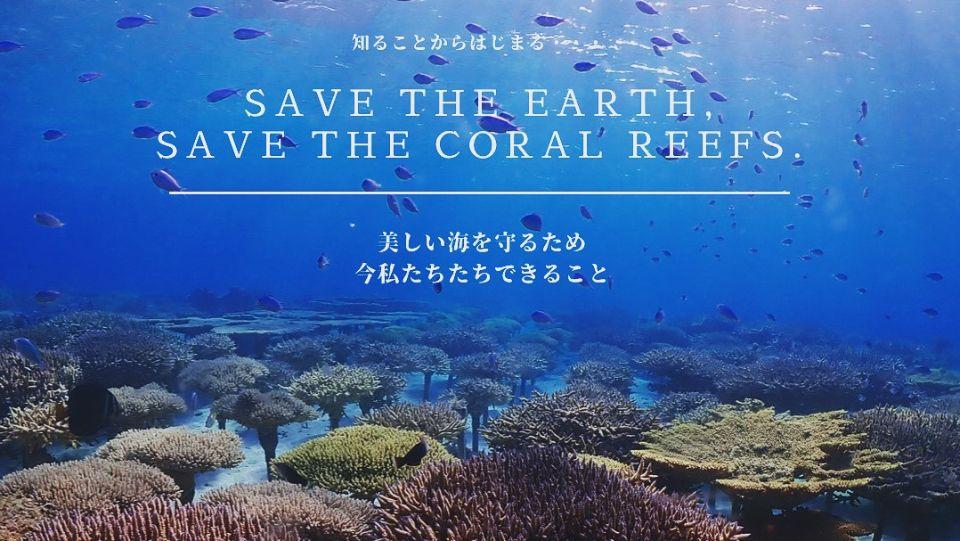 サンゴ植付けコース