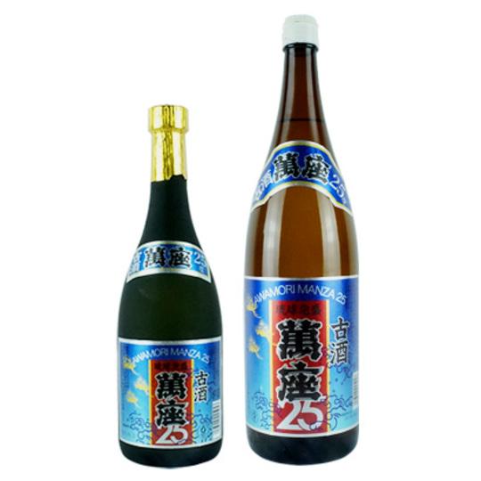 【泡盛】萬座 古酒25度