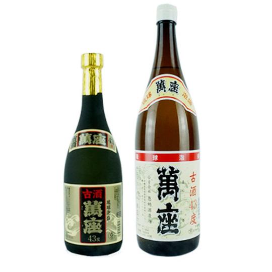 【泡盛】萬座 古酒43度
