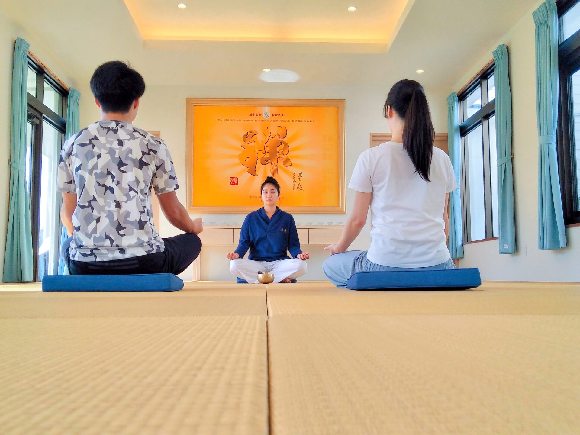 美食&瞑想体験パッケージ